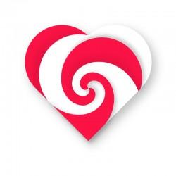 Spiral hjerte